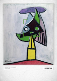 Olympus E-PM1: ABSTRACT ART PICASSO Print Ad by Euro Rscg Vienna