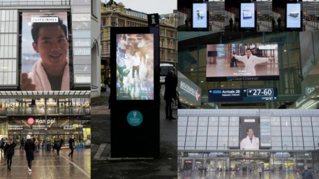 Helsinki Airport: #LIFEINHEL [Supporting Images], 4 Outdoor Advert by TBWA\ Helsinki
