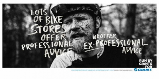 Giant Bicycles: Run By Giants For Giant, 3 Print Ad by Rees Bradley Hepburn (RBH)