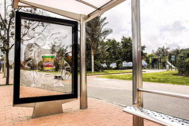 Play-doh: Monster Outdoor Advert by DDB Bogota
