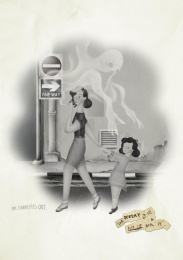 No Tobacco Day: Put Cigarettes Out, Mother & Daughter Print Ad by Do Not Design