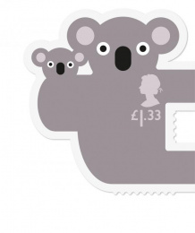 Royal Mail: Animail stamps, 5 Design & Branding by Osborne Ross