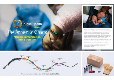 Ministry Of Public Health: Immunity Charm [image] Direct marketing by McCann Erickson Mumbai, McCann Health Mumbai
