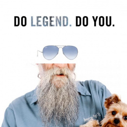 Ray-ban: Legend Print Ad by RXM Creative New York