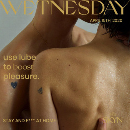 SKYN: Pleasure Calendar -  Wetnesday Digital Advert by Sid Lee Paris