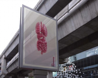 Thermos: Inner warmth  - POLYESTER [billboard] Outdoor Advert by Ogilvy & Mather Bangkok