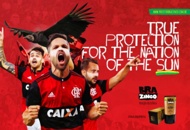 Brazinco: Flamengo Print Ad by Carnaby