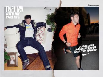 Nike: Run Madrid, Sebastian Print Ad by Villar & Rosas