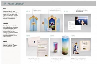 Tpi (telefonica Publicidad E Informacion): SAINT LONGINUS Direct marketing by Wunderman Sao Paulo