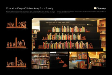 Kinokuniya Book Stores: BOOKENDS Case study by J. Walter Thompson Dubai