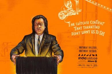IndieLisboa 11th International Independent Film Festival: Pulp Fiction Print Ad by Leo Burnett Lisbon
