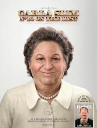 Forbes: Equal Pay Billionaire (Carla Slim) Print Ad by Ogilvy Sao Paulo