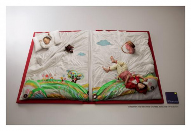 Kinokuniya Book Stores: BEDTIME STORIES Print Ad by Leo Burnett Seoul