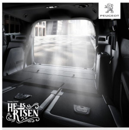 Peugeot 5008: Happy Easter Print Ad by Verdant Zeal
