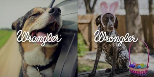 Wrangler: Wrangler vs Wrongler, 12 Print Ad by WE ARE Pi