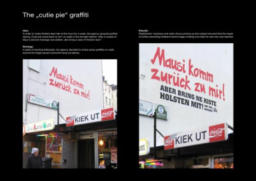 Holsten Beer: CUTIE PIE Ambient Advert by Scholz & Friends Hamburg