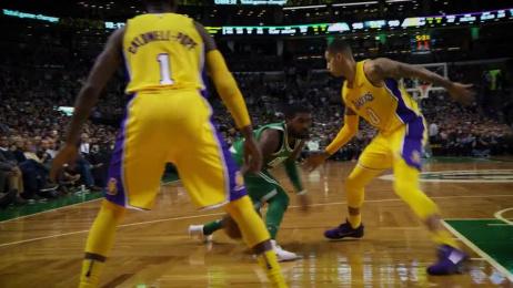 Celtics: Kyrie Dribbling Clinic  Film by Sleek Machine Boston