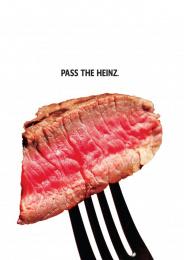 Heinz: Steak Print Ad by DAVID Miami, Sterling Cooper Draper Pryce