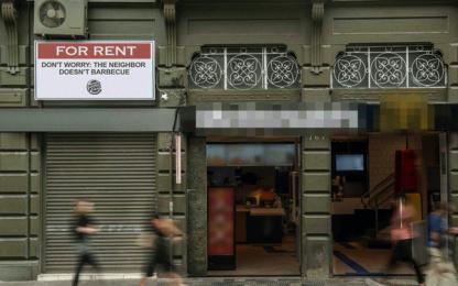 Burger King: Best Neighbor, 1 Outdoor Advert by David Sao Paulo
