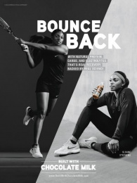Chocolate Milk: Bounce Back Print Ad by Campbell Ewald