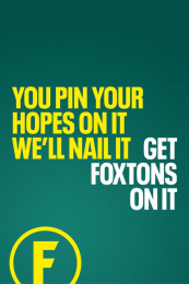 Foxtons: Foxtons Print Ad by M&C Saatchi Accelerator