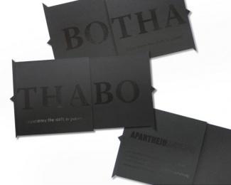 Apartheid Museum: Botha Direct marketing by DraftFCB Johannesburg
