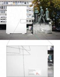 DU Kulturmagazin: Eyetracking of Monument to Labor Outdoor Advert by Euro Rscg Zurich
