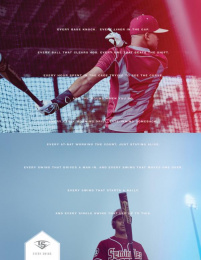 Louisville Slugger: Every Swing [image] Print Ad by Young & Laramore