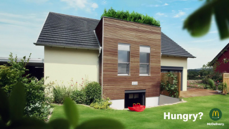 McDonald's: Hungry Houses, 1 [video] Film by Leo Burnett Frankfurt