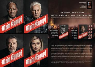 Gesicht Zeigen!: Mein Kampf – Against Racism, 9 Design & Branding by Ogilvy & Mather Berlin