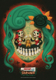 Colgate Sensitive: Stop The Pain - Voodoo Girls  Print Ad by Red Fuse