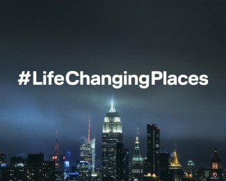 Lufthansa: #LifeChangingPlaces – New York Print Ad by 27 Kilometer Entertainment, Kolle Rebbe Werbeagentur Gmbh