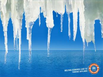 UNEP: Skyline Print Ad by DustbinBangalore