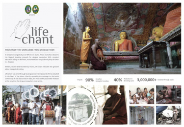 Colombo Municipal Council: Life Chant Print Ad by Triad