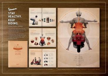 Vespa Scooter: THE CORE BALANCER Design & Branding by Y&R Kuala Lumpur