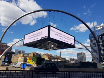 Google: Google Outdoor Advert by R/GA London