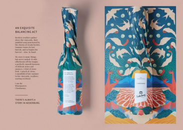Nederburg Wines: Nederburg Stories - A Story For The Bold-Hearted, Born In The Shadows, Written On A Sea Breeze, 2 Design & Branding by TBWA\Hunt\Lascaris Johannesburg