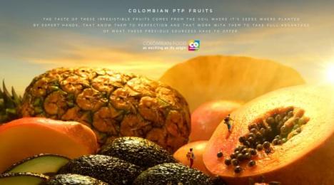 Marca País: Colombian PTP Fruits Print Ad by Sancho BBDO Bogota