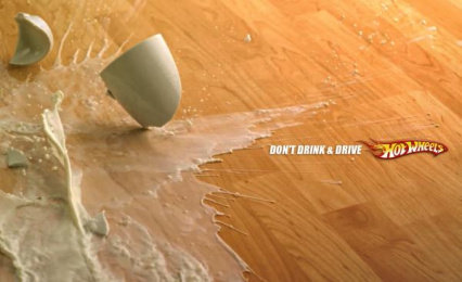Hot Wheels: Milk Print Ad by Maksim Fulltime