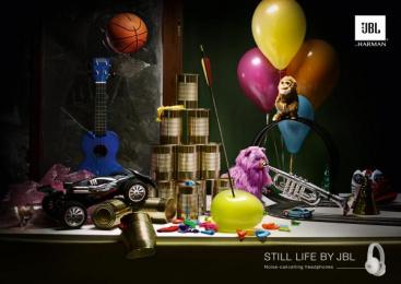 JBL: Still Life, 1 Print Ad by Philipp Und Keuntje