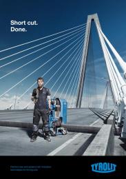 Tyrolit: Short Cut Print Ad by Heimat Wien