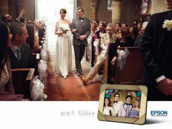 Epson Printers: WEDDING Print Ad by Ogilvy Paris