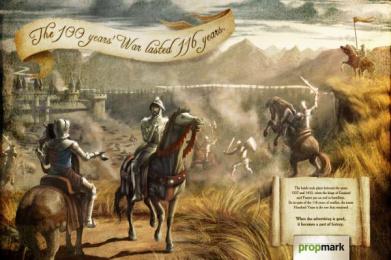 Propaganda & Marketing Newspaper: The 100 Year's War Print Ad by Age Comunicacoes Sao Paulo
