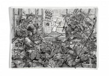 Pictionary: Samurai Print Ad by Ogilvy & Mather Kuala Lumpur