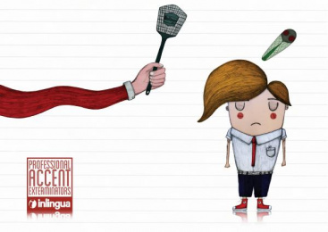 Inlingua Language Courses: Boy, 2 Print Ad by Miami Ad School Hamburg
