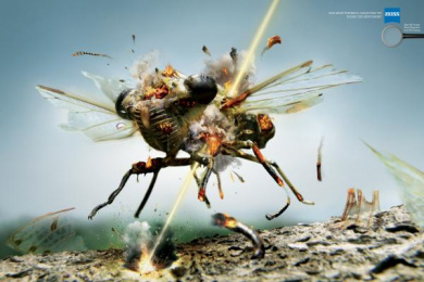 Zeiss: Fly Outdoor Advert by Y&R Dubai
