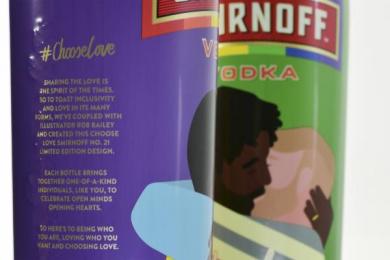Smirnoff: Choose Love Limited Edition, 8 Design & Branding by Design Bridge Limited