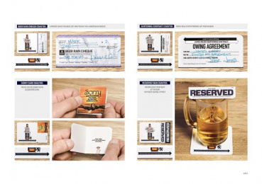 James Ready Beer: James Ready 50% Awesomer Coasters, 2 Direct marketing by Leo Burnett Toronto