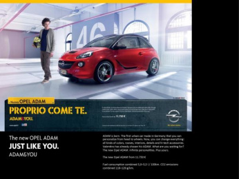 Opel: Just Like You 1 Print Ad by Scholz & Friends Hamburg