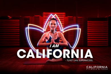 California Fitness: I am California - Tuyet Lan Print Ad by DDB & Tribal Vietnam
